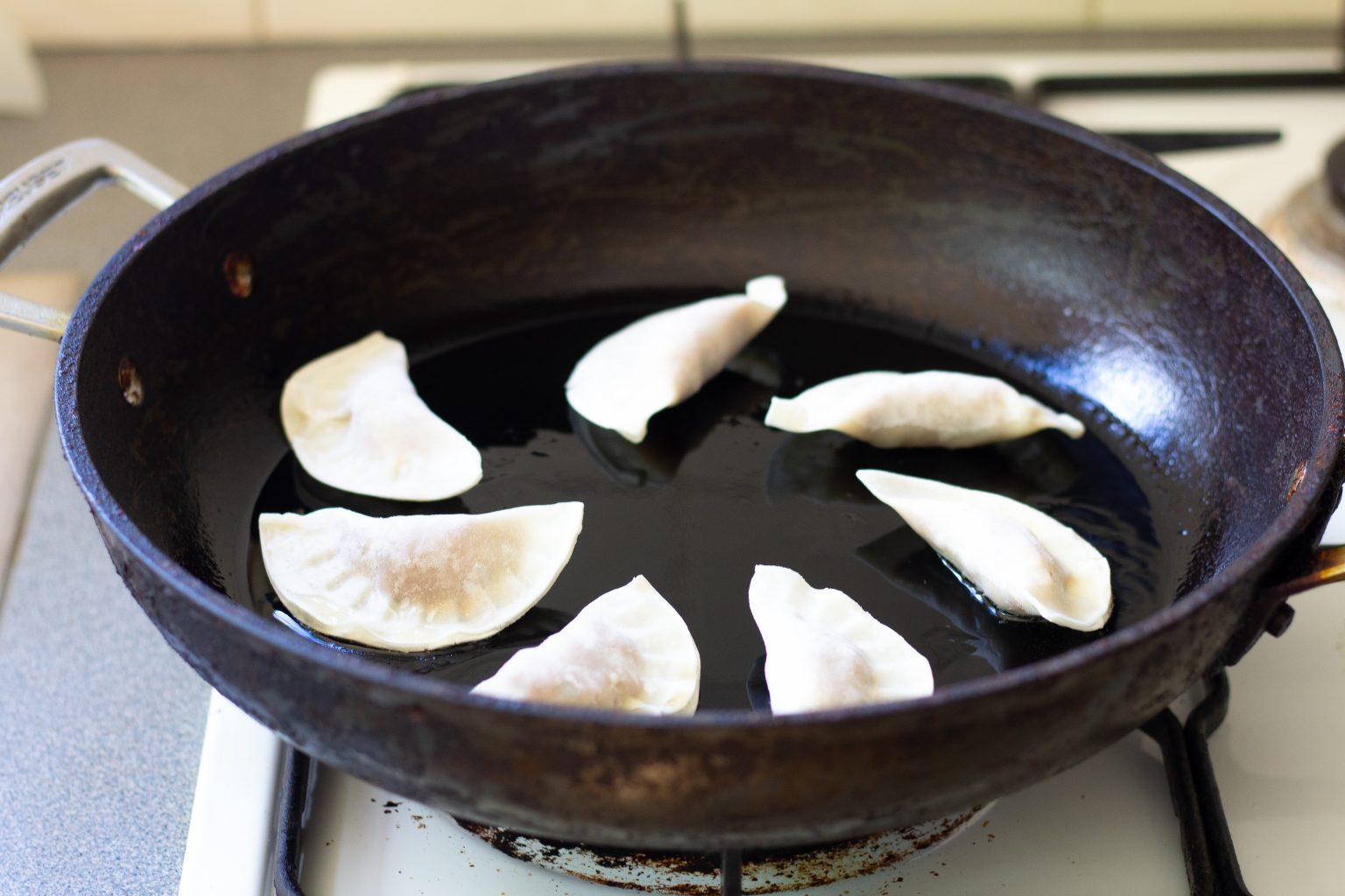 Vegan Dumplings with Coriander and Hoisin Sauce - The MacPherson Diaries