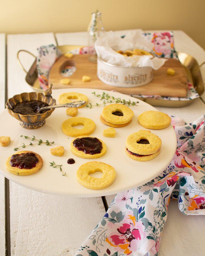 Berry Thyme Shrewsbury Biscuits